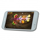 "i9500 Quad-Core Android 4.2 WCDM Bar Phone w/ 5.0"" Capacitive Screen, Wi-Fi and GPS - White"