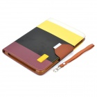 Protective PU Leather Case + ABS w / soporte para Ipad MINI - Colorido