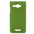 TEMEI Quicksand Style Protective Plastic Back Case for HTC Butterfly X920d - Green