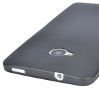 TEMEI Protective Plastic Back Case for HTC One M7 - Black