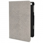 Protective Flip-Open PU Leather + ABS Case Foldable Case for Ipad MINI - Grey