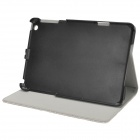 Suojaava Flip-Open PU Leather + ABS Case Kokoontaitettava kotelo iPad mini - Harmaa