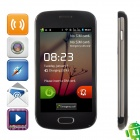 "M-HORSE7562 (SPHS on Hsdroid) Android 4.1 GSM Phone w/ 4.0"" Capacitive, Quad-Band and Wi-Fi - Black"