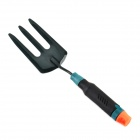 LWH-2 Portable Anti-slip Stainless Steel Three Claw Harrow - Black + Green + Orange