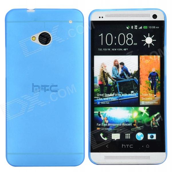 TEMEI Protective PC Plastic Back Case for HTC One M7 - Blue htc u ultra sapphire blue 64gb
