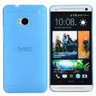 TEMEI Protective PC Plastic Back Case for HTC One M7 - Blue