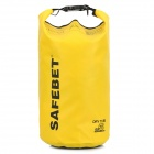 Multifunctional Waterproof Outdoor Drift PVC Storage Bag - Yellow (5L)