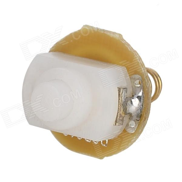 602C Replacement Clicky Switch Part Module for 16340 Flashlight - White + Golden