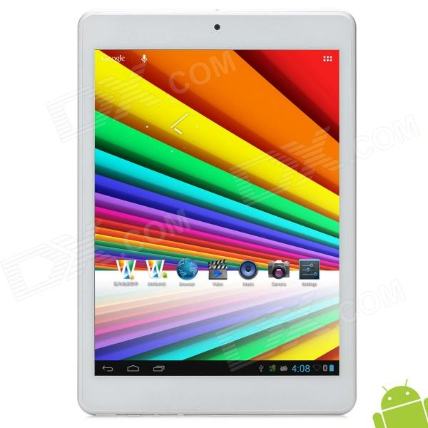 "CHUWI V88 7.85"" Capacitive Screen Android 4.1 Quad Core Tablet PC w/ TF / Wi-Fi / Camera - Silver"
