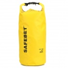 Multifunctional Waterproof Outdoor Drift PVC Storage Bag - Yellow (20L)