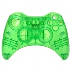 Protective ABS Full Shell Case Set for Xbox 360 Wireless Control - Translucent Green