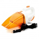 JT108 90W Portable Handheld Car Vacuum Cleaner - Orange + White