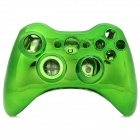 Protective Electroplating ABS Full Shell Case Set for Xbox 360 Wireless Control - Green