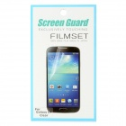 High Transparency Screen Protectors Film Guard for Samsung Galaxy S4 i9500 - Transparent (3 PCS)