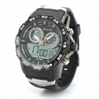 ALIKE AL111 Waterproof Backlit Analogue & Digital Display Quartz Wristwatch (1 x CR2016/1 x SR626SW)