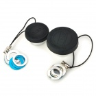 Multifunction 3-in-1 Fisheye + Wide Angle + Macro Lens for Iphone 3 / 4 / 5 / 4S - Black + Silver