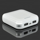 ZNOODA External 9000mAh High Capacity Power Battery Charger for iPhone / Nokia / HTC - White