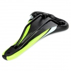 VELO VL-1205 Replacement PU Leather Cover Bicycle Seat Saddle - Black + Green