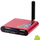 MK805 II Dual-Core Android 4.2.2 Google TV Player w/ 1GB RAM / 4GB ROM / Wi-Fi / TF / HDMI - Red