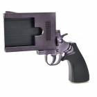 Cool Gun Pistol Style Stand Holder for Iphone 4 / 4S - Black