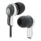SONGQU SQ-57MP Fashion In-ear Stereo Earphone - Black + Silver
