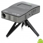 JEJA J1-MP002 Muti-function Portable Android LED Projector w/ AV / HDMI / TF Set - Black + Grey