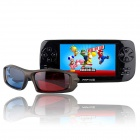 "PAPKIII 3D 4.3"" TFT Screen Game Console Multi-Media Player w/ Camera / FM / TV-Out - Black (4GB)"