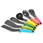 Q2CM Kitchen Cooking Utensils Liquid Silicone Set - Multicolored (6 PCS)