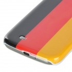 Germany National Flag Pattern Plastic Back Case for Samsung Galaxy S4 / i9500 - Yellow + Red + Black