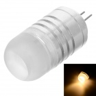 MSLED L04 G4 4W 130lm 3500K 4-SMD 3030 LED Warm White Light Spot Beam Lamp (AC / DC 12V)