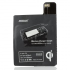 Metrans MWR03 Wireless Charger Receiver for Samsung Galaxy S4 i9500 - Black