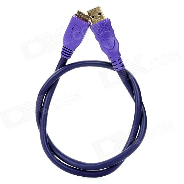 Millionwell Gold Plated USB 3.0 AM to Micro B Download Data Cable - Purple (60CM) 7 inch 800x400 hmi weinview mt6071ip new with usb program download cable
