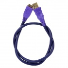 Millionwell Gold Plated USB 3.0 AM to Micro B Download Data Cable - Purple (60CM)