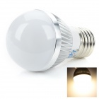 ZDM E27 3W 220lm 3500K 3-LED Warm White Bulb Lamp (90~260V)