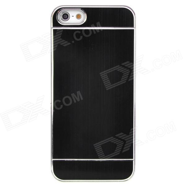Wire Drawing Pattern Protective Plastic Back Case for Iphone 5 - Black + Silver 2015 wholesale back to heaven demon college dxd leah redrawing wire pole dancing editions of hand box