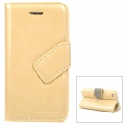Stylish Protective PU Leather Case for Iphone 4 / 4S - Beige