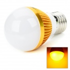 ZDM E27 3 x 1W 100lm 3-LED Yellow Light Lamp (90~260V)