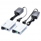 HSGQ EFiber 5500S 10/100Mbps RJ45 LAN to Fiber Optic Single Mode Duplex Fiber Convertors (2-Pack)
