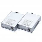 HSGQ EFiber 5500M 10/100Mbps RJ45 LAN to Fiber Optic Multi-Mode Duplex Fiber Convertors (2-Pack)