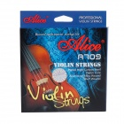 Alice A709  5-in-1 Stainless Steel Violin Strings Set