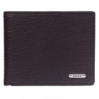 BEIDIERKE B045-918 High-grade Top-Layer Cow Leahter Men's Wallet - Brown