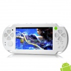 "4.3"" Resistive Touch Screen Android 4.0 Dual-Camera Game Console w/ 512 RAM / 4GB ROM / HDMI - White"