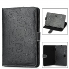 "Universal Cartoon Style Protective PU Leather Case for 7"" Tablet PCs - Black"