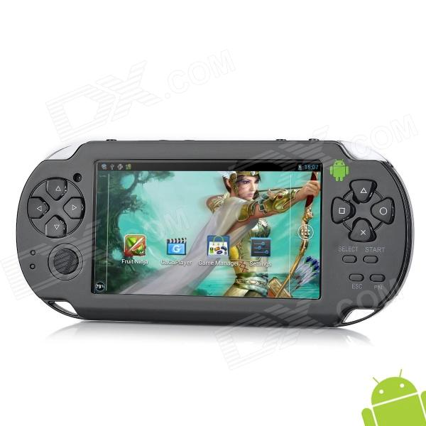 4.3 Resistive Touch Screen Android 4.0 Dual-Camera Game Console w - 512 RAM - 4GB ROM - HDMI - Zwart