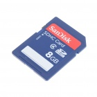 Genuine SanDisk SDHC SD Memory Card (8GB / Class 2)