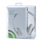 COSONIC CT-655 Stylish 118dB Heavy Bass Stereo Headset for Laptop - White + Gray + Silver (125cm)