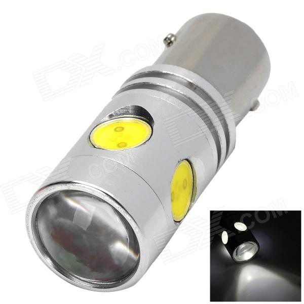 1157 15W 720lm Condensing Lens Cool White Car Steering Brake Light w/ 1 x Cree XP-E + 4 x LED(9~30V) wl20130104266 1157 12w 550 650lm 635 700nm red car brake light w 4 cree xp e