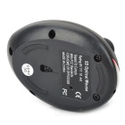 2.4GHz Wireless Rechargeable Laser Mouse for MP3 - Black + Gray