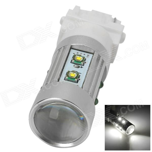 HJCREE10 3156 8W 800lm 6500K White Car Headlamp w/ 10-Cree XP-E (10~30V)