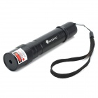 SD-230 5mW 650nm Red Laser Pointer Flashlight - Black (1 x 18650)